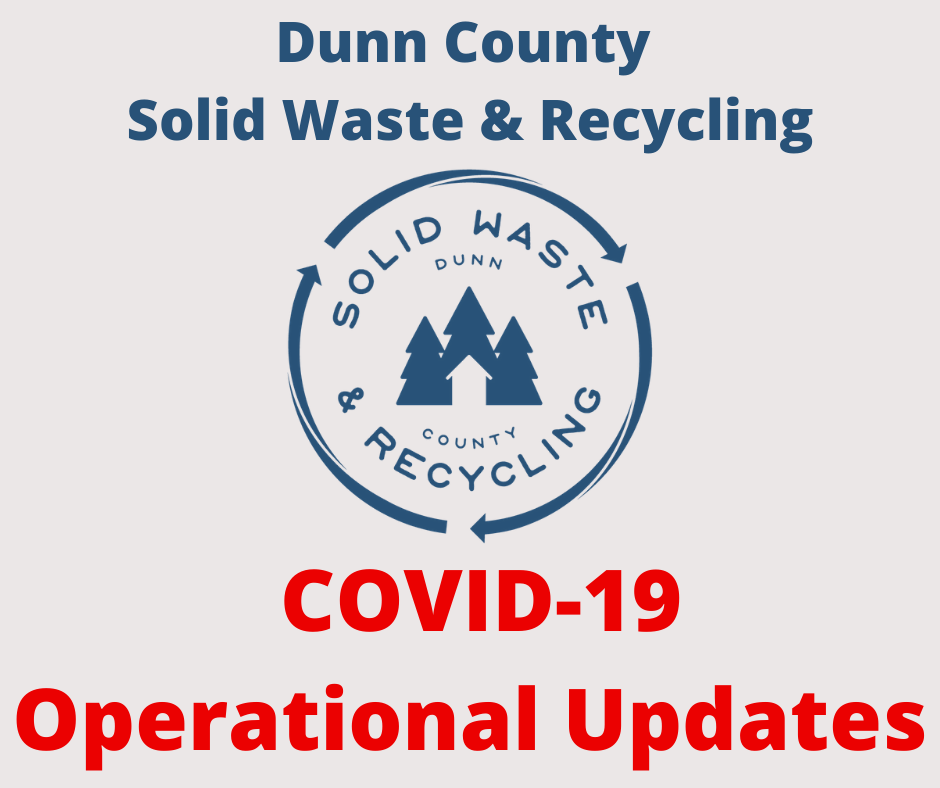 Dunn County Solid Waste and Recycling logo