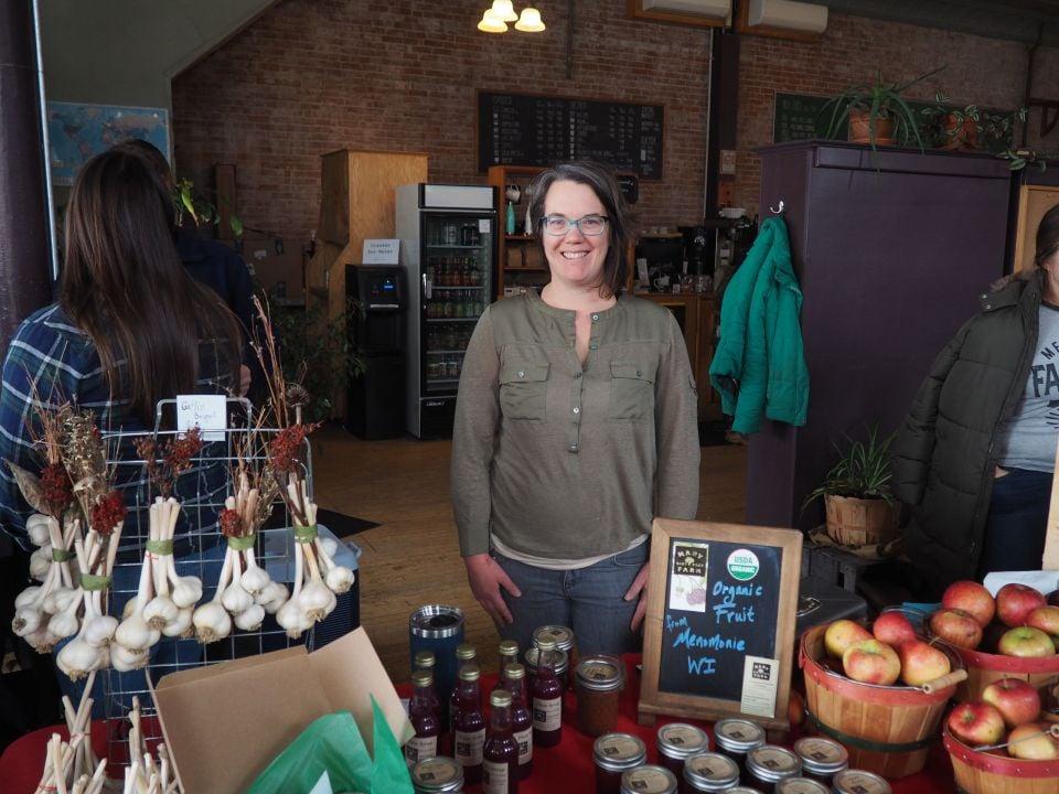 Rachel Henderson at Farmers Market