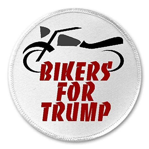 Bikers for Trump Patch
