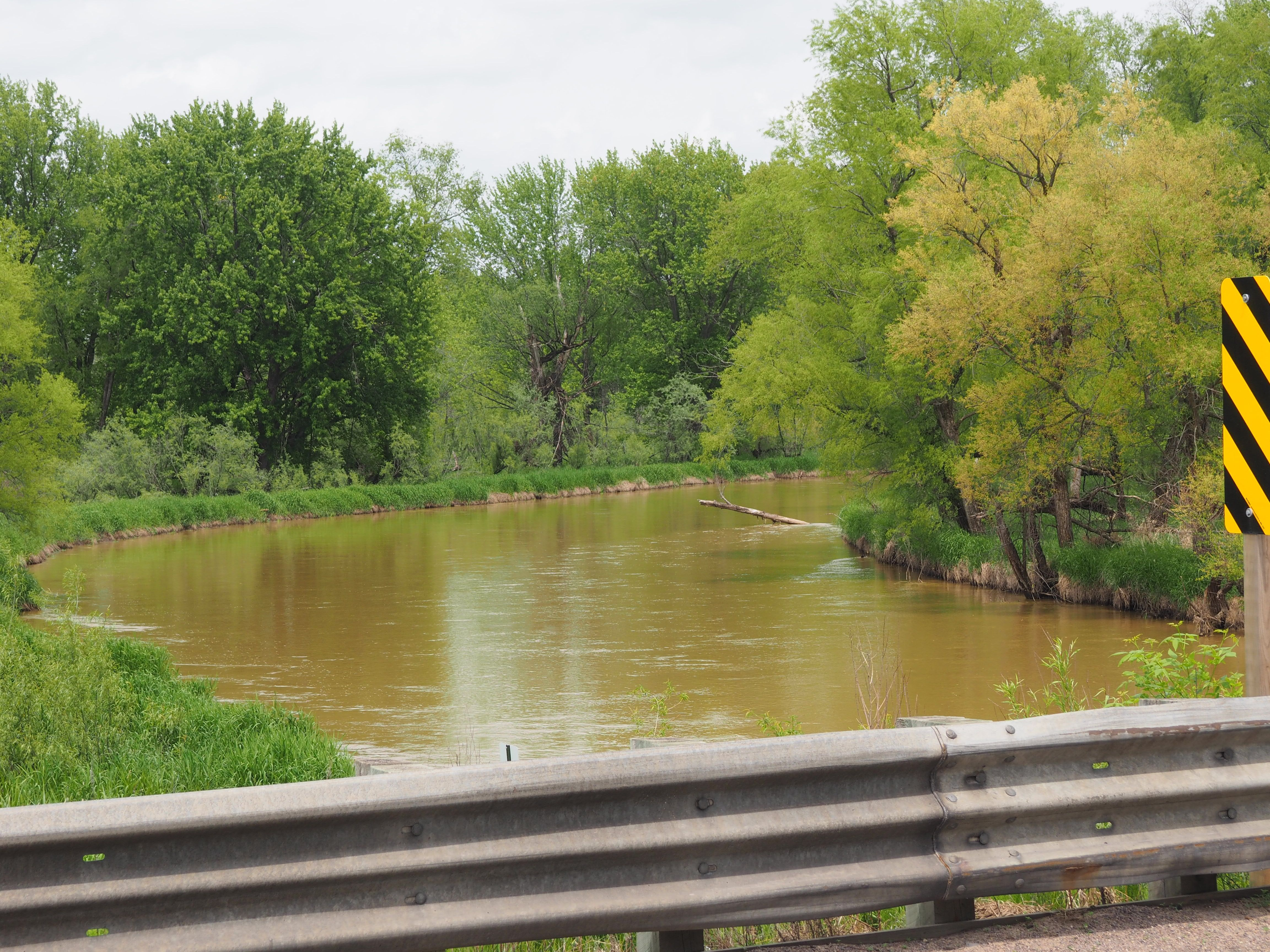 Spill in Trempeauleau River